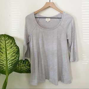 Anthropologie   Pathed Seams Top